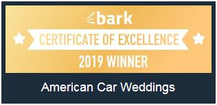 American Car Weddings - Runner Up for New Business