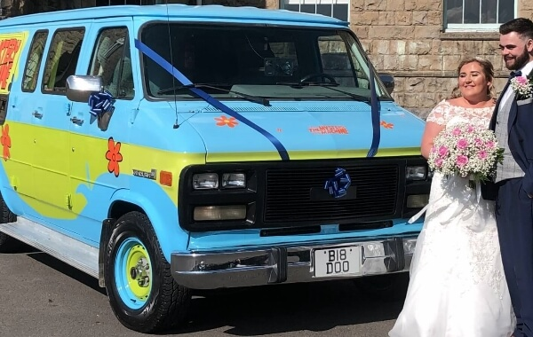Scooby Doo Mystery Machine - Scooby Doo Mystery Machine for hire South Wales